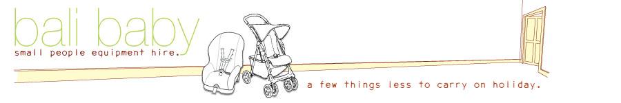 Bali Baby Equipment Hire - Logo